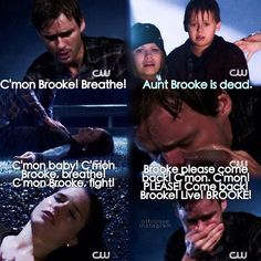 OTH rain storm. This scene right here...it helped me really like Brooke/Julian. I always did but this right here ..really cemented that