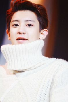 Chanyeol, babe, I think you've got a little something on your neck