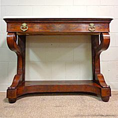 19th Century French Antique Restoration Period Console