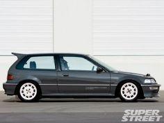 1990 Honda Civic SI - (4th Car 2000 - 2012)