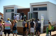 Solar Decathlon 2013 Team Alberta Visitors
