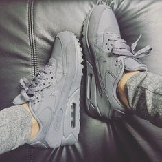 d027923ca52f shoes nike grey sneakers nike sneakers all grey everything air max nike  shoes matte nike air nike air max 90 grey nike air max grey shoes grey  sneakers low ...