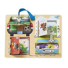 #Christmas Order Melissa & Doug Locks & Latches Board for Christmas Gifts Idea Online . Selecting  Christmas Toys intended for youngsters might appear easy, when decided on carefully, Christmas Toys will offer the possibility for just a youngster to understand a thing, yet will also be a...
