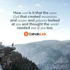 Catholic quotes, infographics, memes and more resources for the New Evangelization. God needs you too,