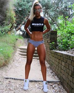 Perfect Fitness Outfit | #1stInHealth #WomensFashion #FitnessFashion #WorkoutFashion #WorkoutShorts