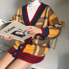 Korean Fashion Tips .Korean Fashion Tips Teen Fashion Outfits, Retro Outfits, 90s Fashion, Trendy Outfits, Korean Fashion, Fall Outfits, Autumn Fashion, Cute Outfits, Fashion Hacks