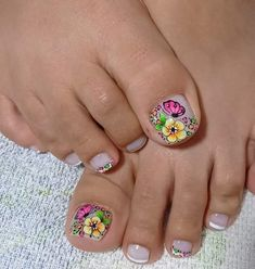 Toe Nail Designs, Toe Nails, Pedicure, Lily, Polish, Nail Ideas, Pretty Nails, Work Nails, Enamel