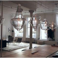 lasvit -neverendingglory suspension lamps