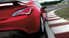2015 GENESIS COUPE ULTIMATE IN TSUKUBA RED Visit http://www.hyundaigreenvalley.com/