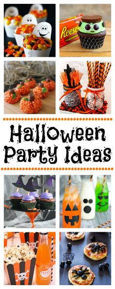 Fun Ideas for Halloween Parties-Food, Decorations, Games and Party Favors