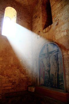The abbey of Sant'Antimo, Siena, Tuscany, Italy.