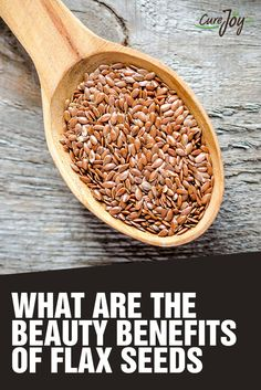 What Are The Beauty Benefits Of Flax seeds? #Health #Healthtips #Lifestyle #Healthylife #Healthyliving #Flaxseeds