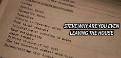Steve go home