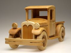 Wood model Projects | wooden toy truck plans
