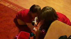 Sisters play together  😍 #sisters #love #family #girls #happy #lovethem #siblings #cute #sister #daughters #littlesister #happiness #cuties #play #fun #playing #playtime #toy #children #testvérek #anyavagyok #mommylife #momblog #mommy #mommyblog #jatek #együtt
