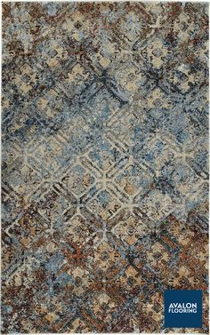 Aero Area Rug in the Mocha color   Available at Avalon Flooring   5x7 Starting at $249   Other Sizes Available   #arearugs #transitional #bohemian #contemporay #rugs