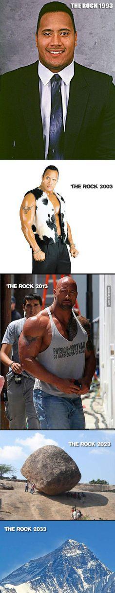 Nemkutya.com - Dwayne The Rock Johnson fejlődése képekben
