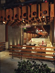 Lucky Fish Restaurant, designed by Tag Front