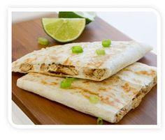 Thai chick'n quesadilla #taco #tacotuesday #gardein
