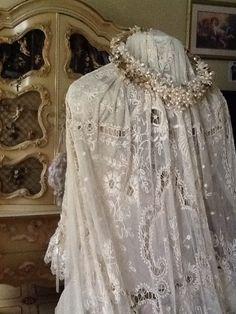 Tambour Lace wedding veil!