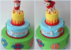 Marshall- Pow patrol birthday cake theme