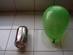 Carreras de latas y globos