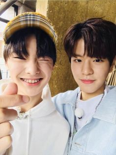 Why are they so cute ;^; #straykids #jeongin #seungmin
