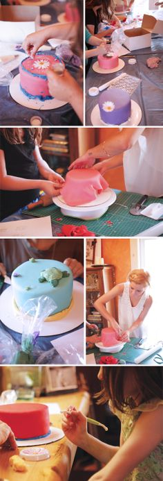 Cake Decorating Party!