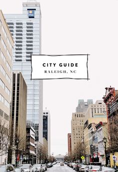 A City Guide for the Raleigh and Durham area of North Carolina. A full list of…