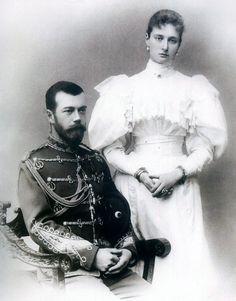 Николай и Александра жених и невеста