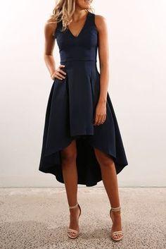 Frankie Dress Navy