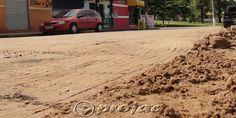 Poeira contaminada preocupa comerciantes e transeuntes. - http://projac.com.br/noticias/poeira-contaminada-preocupa-comerciantes-e-transeuntes.html