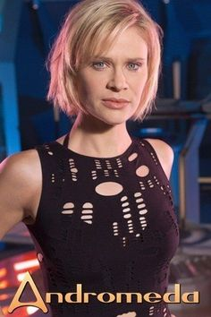 Canadian actress Lisa Ryder (born 26 October 1970)  as Beka Valentine on Gene Roddenberry's Andromeda.