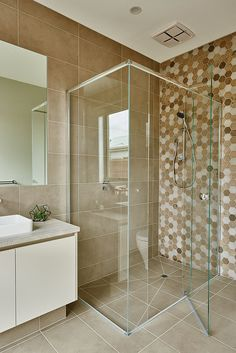 Roadknight 286 Bathroom #Hamlanhomes #Geelong #Buildingdreams #Nikoleramsayphotography Alcove, Bathrooms, House Ideas, Bathtub, Homes, Building, Standing Bath, Bath Tub, Houses