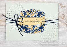 Card 2 Floral Stitch