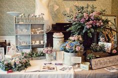 Designer Vintage Bridal Show Passion for Flowers Wedding of my Dreams Stand by Passion for Flowers, via Flickr