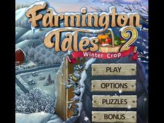 Download: http://wholovegames.com/hidden-object/farmington-tales-2-winter-crop.html Farmington Tales 2: Winter Crop PC Game, Sim Farming Games.  Explore snowy Dahlia Farms! Explore snowy Dahlia Farms in this unique hidden object/farming sim hybrid! Build greenhouses and keep the farm going throughout the winter. Download Farmington Tales 2: Winter Crop Game for PC for free: https://www.facebook.com/pages/Farmington-Tales-2-Winter-Crop-Game/479447398843471