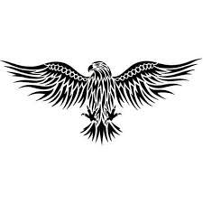 Image result for tribal bird of prey tattoo