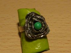 auth. RELO Designer 925 Silber Ring MODERNIST Einzelstück signed Gr. 17 18