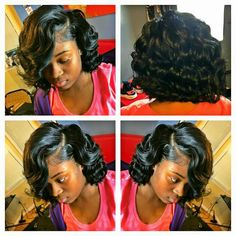 Bob Hairstyles – The Great Look Through The Years – Stylish Hairstyles Hot Hair Styles, Curly Hair Styles, Natural Hair Styles, Weave Bob Hairstyles, Hairstyles 2018, School Hairstyles, Bob Haircuts, Twist Hairstyles, Black Hair Care