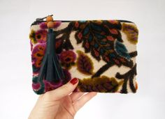 A little pouch with a lot of texture.