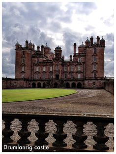 Drumlanrig castle, Thornhill, Scotland. What a beautiful place to visit!