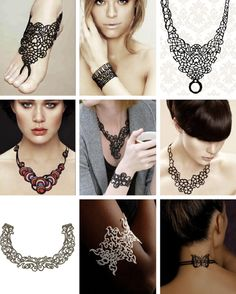 Batucada tattoo jewelry.  They're made from eco-friendly rubber material that's durable, water-proof, sweat-proof, light-weight (it floats) and molds to your body.