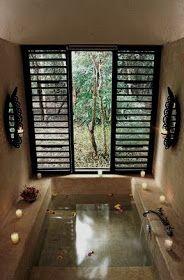 Sunken Bathtub Remodel Tubs New Ideas Dream Bathrooms, Beautiful Bathrooms, White Bathrooms, Luxury Bathrooms, Master Bathrooms, Contemporary Bathrooms, Sunken Bathtub, Jacuzzi, Small Bathrooms