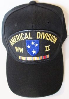 23rd Infantry Division Americal Division Man Classics Cap Girls Fashion Hat Baseball Cap