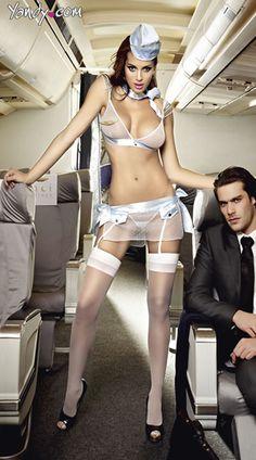 Want fuck my flight attendant private jet tinny