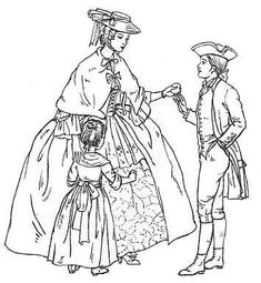 Clothing 1735 - 1770 -- the capelet