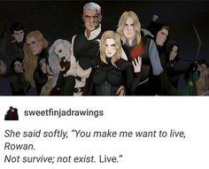 I still fucking hate Rowan, but I love the art.