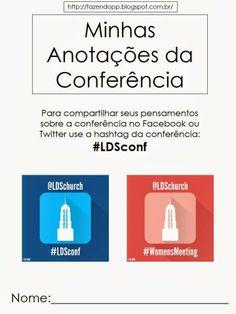 As Tontas Vão Ao Céu: Recursos para Conferência Geral 2014