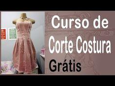 Agulha de ouro Ateliê: Corte e Costura passo-a-passo Barra Vestido - DIY…